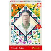 thumb-Frida Kahlo - legpuzzel van 500 stukjes-1