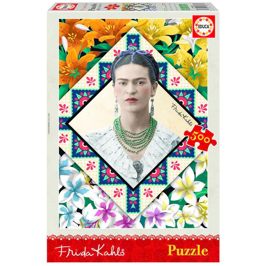 Frida Kahlo - legpuzzel van 500 stukjes-1