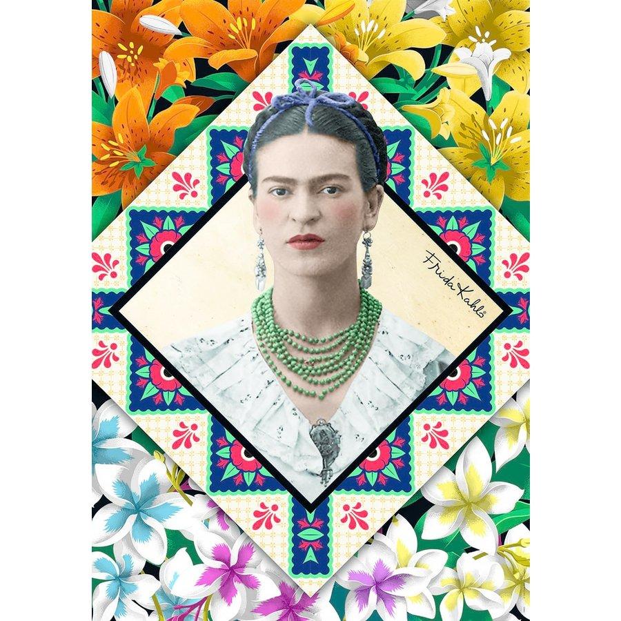 Frida Kahlo - legpuzzel van 500 stukjes-2