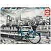Educa Bicyclette près de Notre Dame - puzzle de 500 pièces