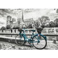 thumb-Bicyclette près de Notre Dame - puzzle de 500 pièces-2