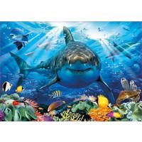 thumb-Grote witte haai  - legpuzzel van 500 stukjes-2