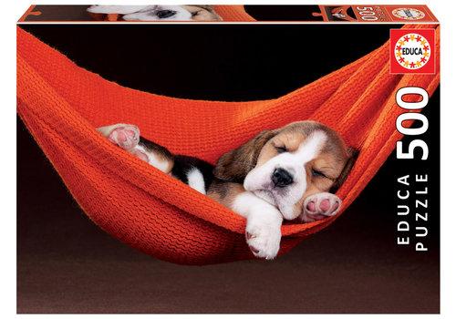 Sleeping in a Hammock - 500 pieces