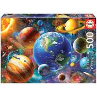 thumb-Zonnestelsel - legpuzzel van 500 stukjes-1