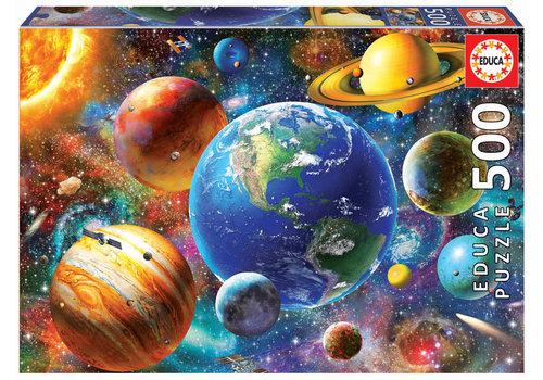 Educa Zonnestelsel - 500 stukjes