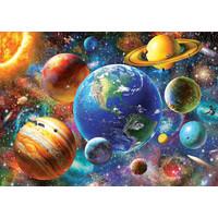 thumb-Zonnestelsel - legpuzzel van 500 stukjes-2