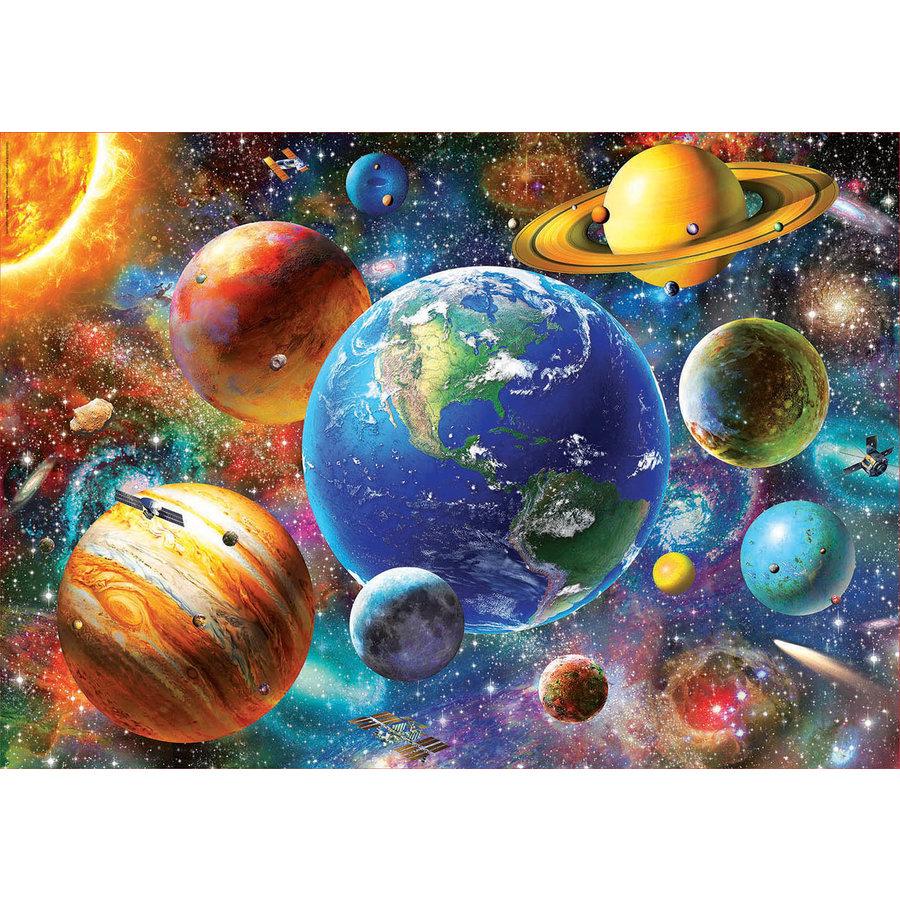 Zonnestelsel - legpuzzel van 500 stukjes-2