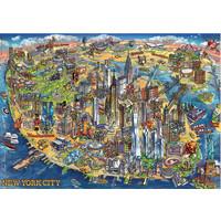 thumb-Plan de New York - puzzle de 500 pièces-2