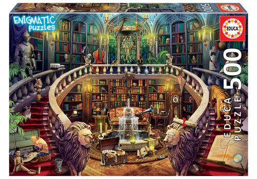 Educa Bibliotheek - 500 stukjes