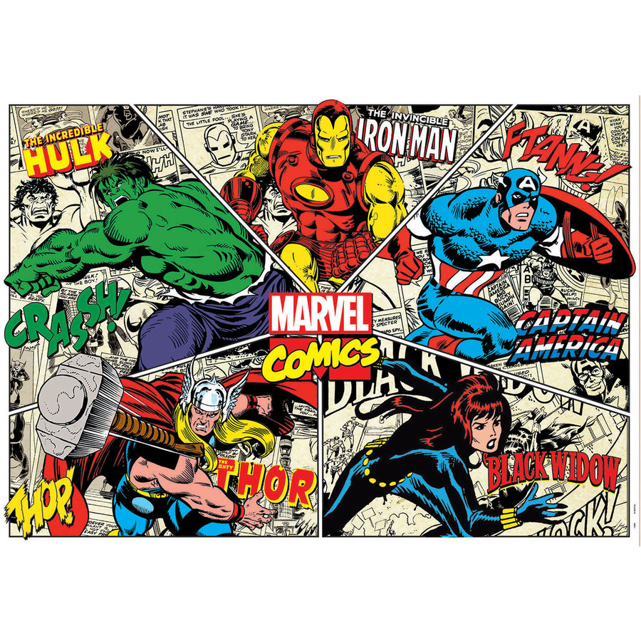Marvel Comics - puzzle de 1000 pièces-2