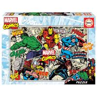 thumb-Marvel Comics - puzzel van 1000 stukjes-1