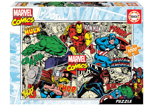 Marvel Comics - 1000 pieces