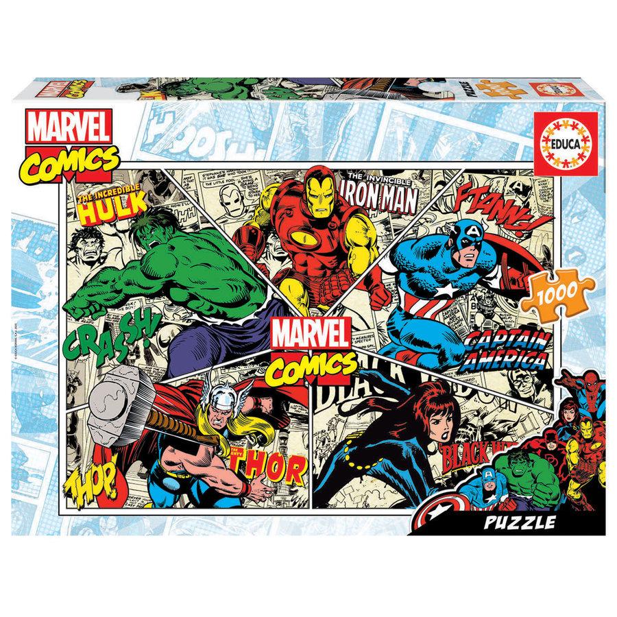 Marvel Comics - puzzel van 1000 stukjes-1