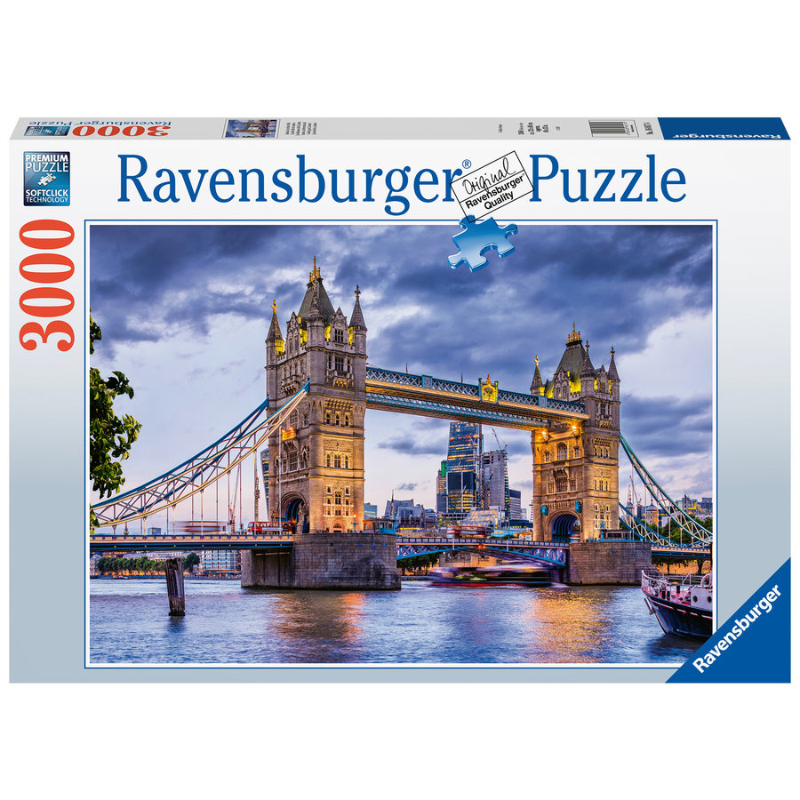 London, schitterende stad - puzzel van 3000 stukjes-2