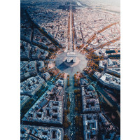 thumb-Parijs van bovenaf gezien - 1000 stukjes-1