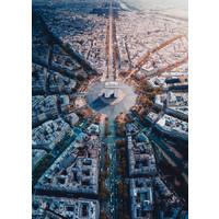 thumb-Paris vue d'en haut - puzzle de 1000 pièces-1