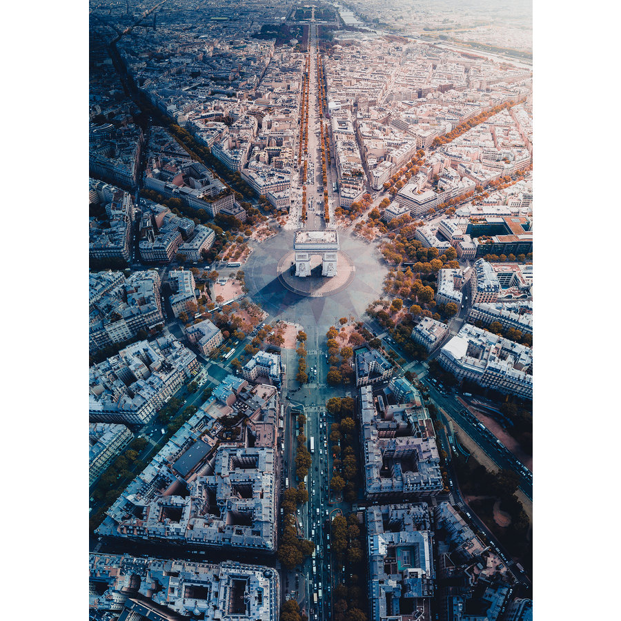 Parijs van bovenaf gezien - 1000 stukjes-1