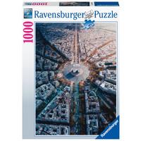 thumb-Paris vue d'en haut - puzzle de 1000 pièces-2