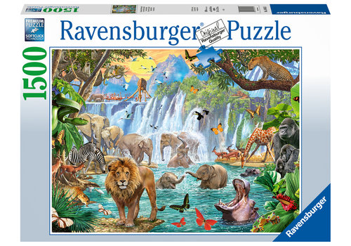 Waterval in de jungle - 1500 stukjes