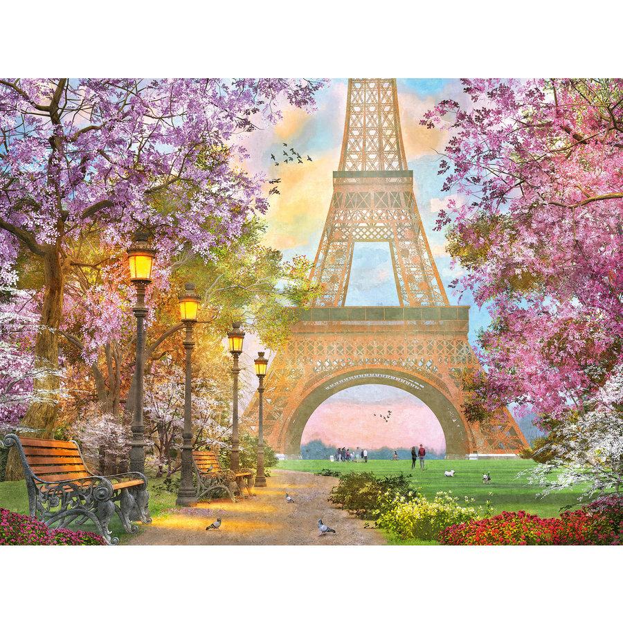 Verliefd in Parijs - puzzel van 1500 stukjes-1