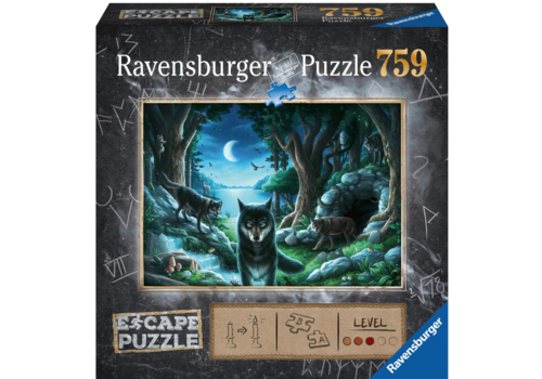 Escape Puzzel 7: De vloek van de wolven - 759 stukjes