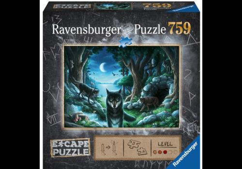 Escape Puzzle 7: The curse of the wolves - 759 pieces