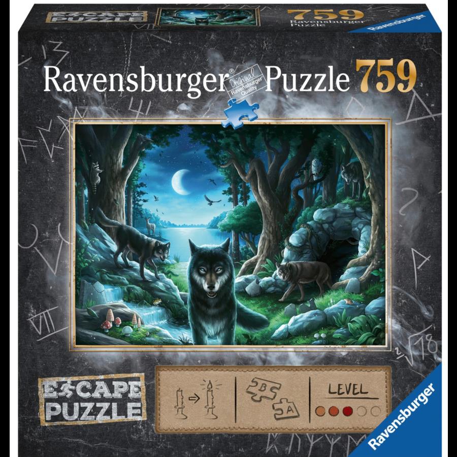 Escape Puzzel 7: De vloek van de wolven - 759 stukjes-1