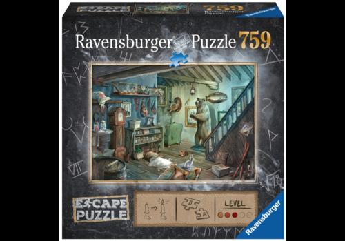 Ravensburger Escape Puzzle 8: Le sous-sol interdit - 759 pièces