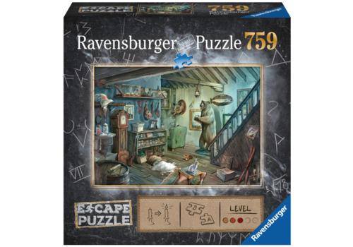Ravensburger 759 Escape Jigsaw Puzzle Forbidden Basement *New in shrink wrap*