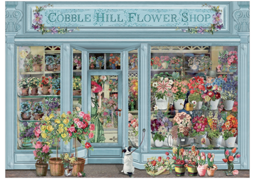 Cobble Hill Fleurs parisiennes - 1000 pièces