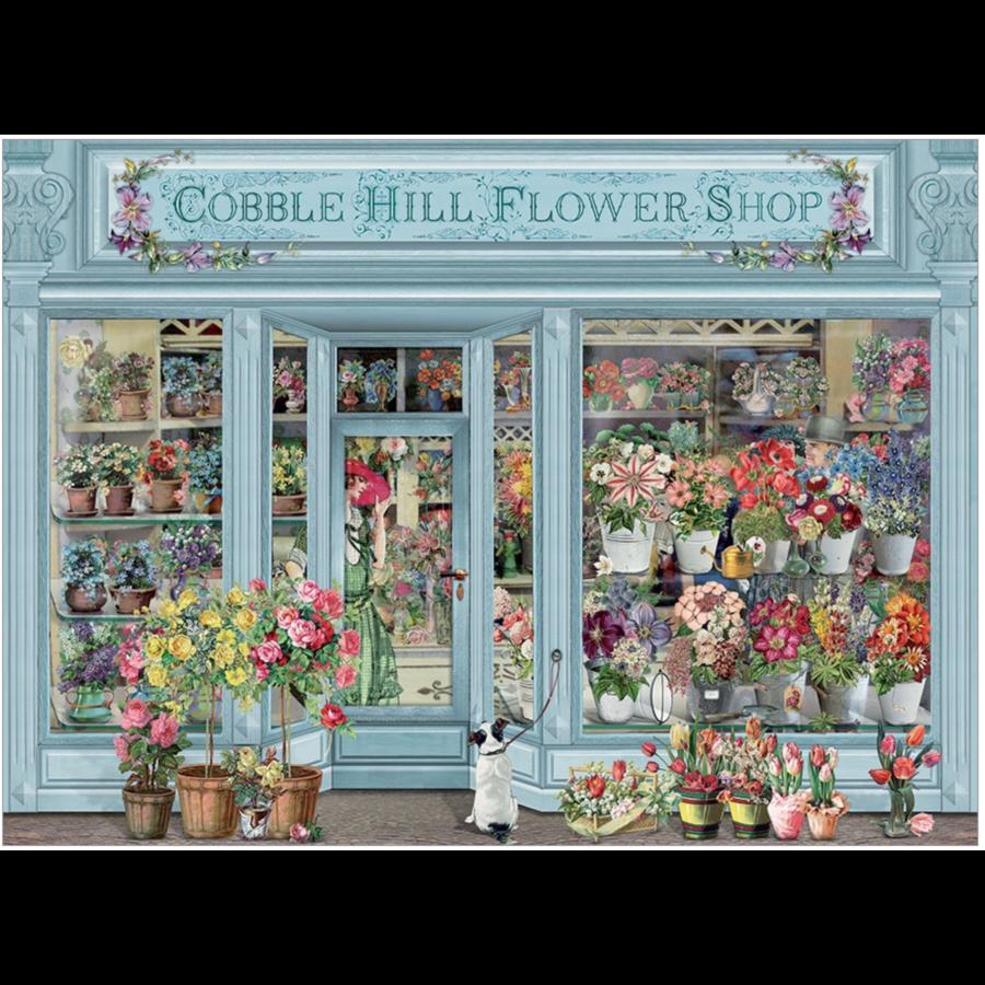 Fleurs parisiennes - puzzle de 1000 pièces-1