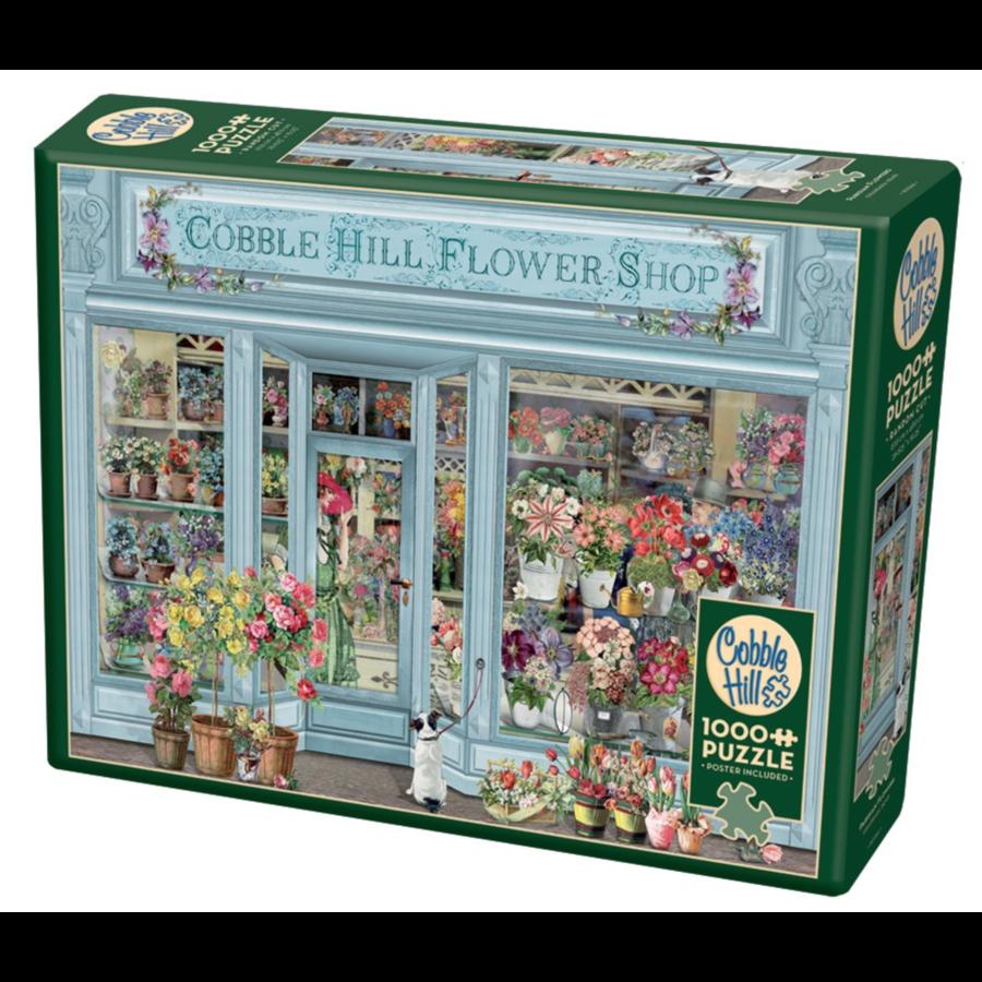 Fleurs parisiennes - puzzle de 1000 pièces-2