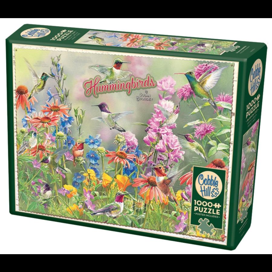 Hummingbirds - puzzle of 1000 pieces-1