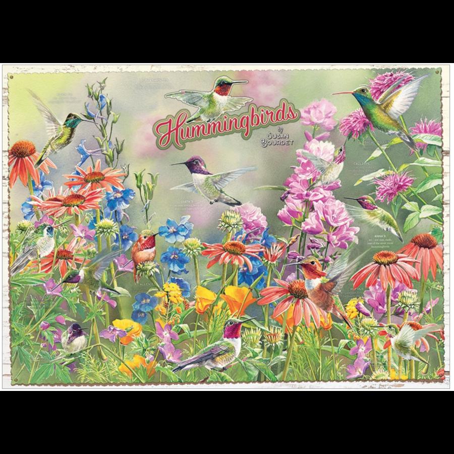 Hummingbirds - puzzle of 1000 pieces-2