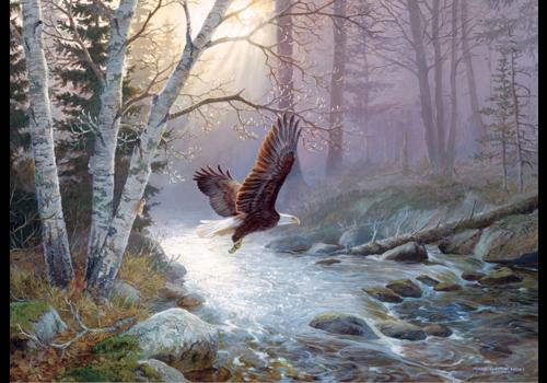 De adelaar - 1000 stukjes