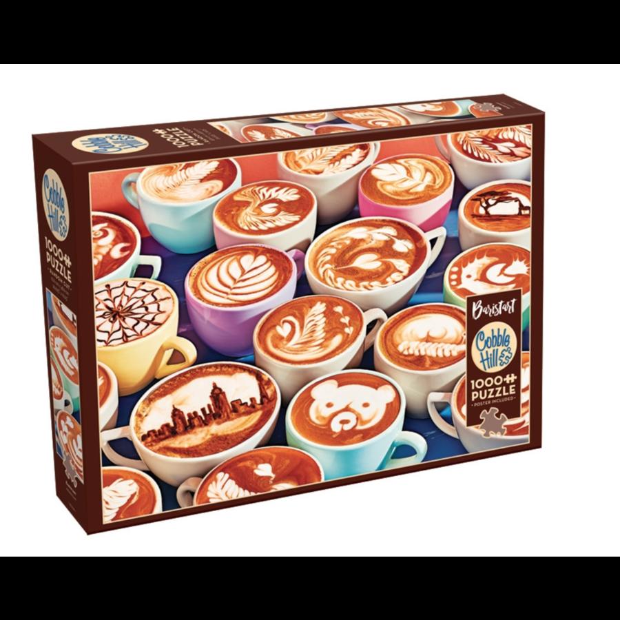BaristArt - puzzle de 1000 pièces-2
