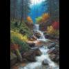 Cobble Hill Mountain Cascade - puzzle of 1000 pieces
