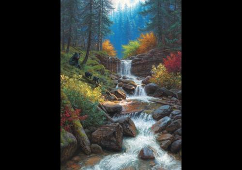 Mountain Cascade - 1000 pieces