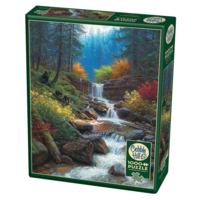thumb-Mountain Cascade - puzzle of 1000 pieces-2
