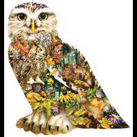 Messager de la forêt - puzzle de 650 pièces