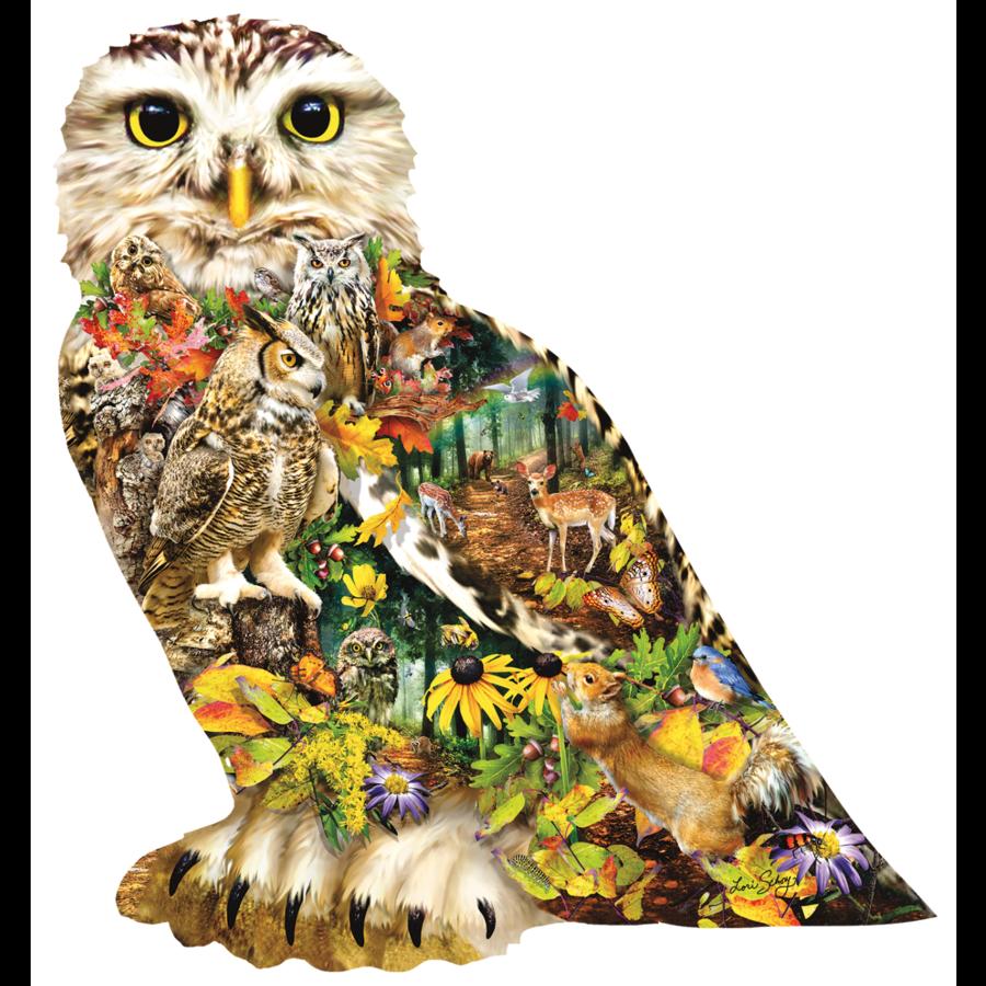 Messager de la forêt - puzzle de 650 pièces-1