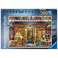 thumb-Antiquités et curiosités - puzzle de 500 pièces-2