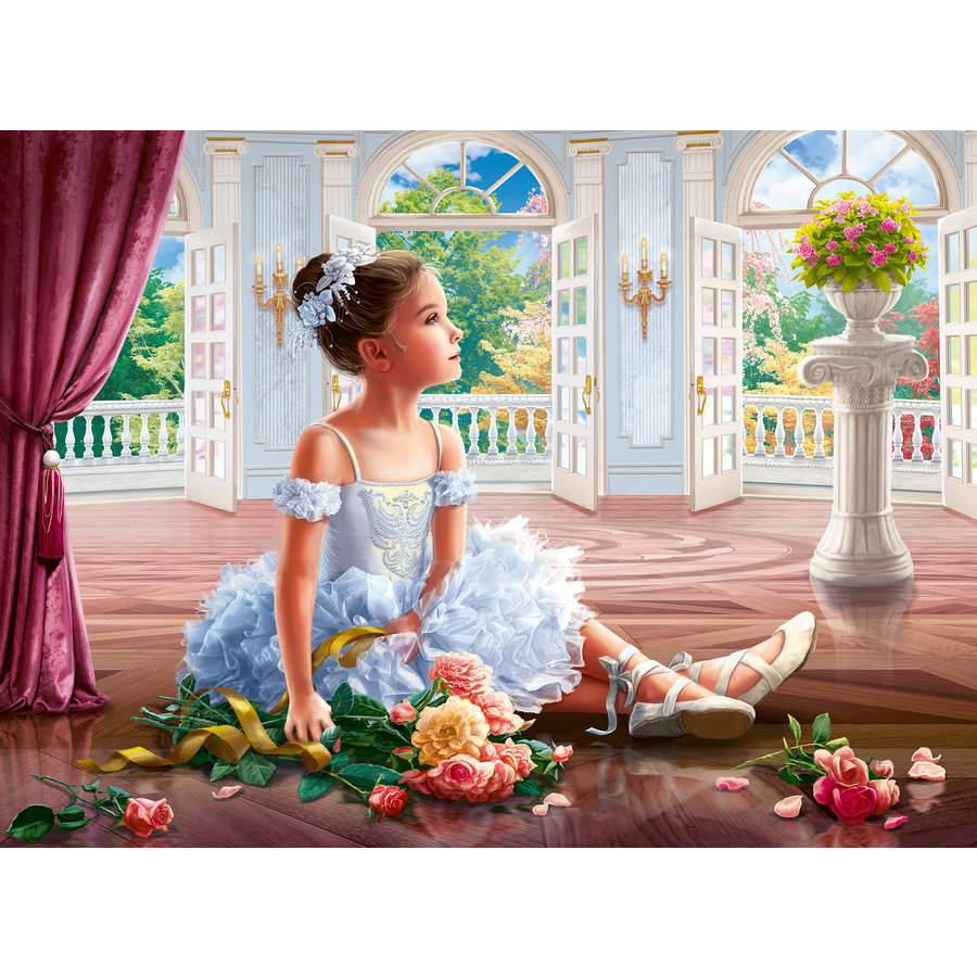 Rêve de ballerine  - puzzle de 500 pièces-1