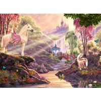 thumb-La rivière magique  - puzzle de 500 pièces-1