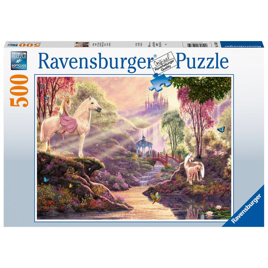 La rivière magique  - puzzle de 500 pièces-2