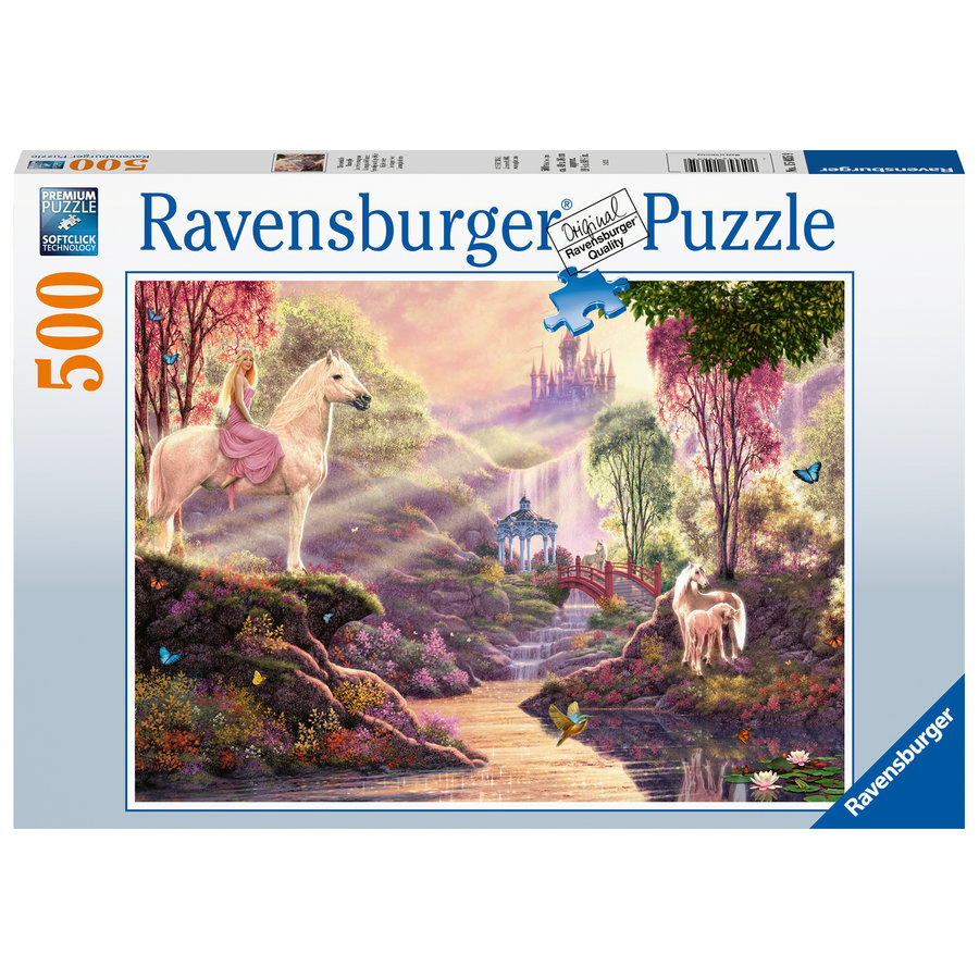 Sprookjesachtige Idylle - puzzel van 500 stukjes-2