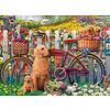 Ravensburger Schattige hondjes in de tuin - puzzel van 500 stukjes