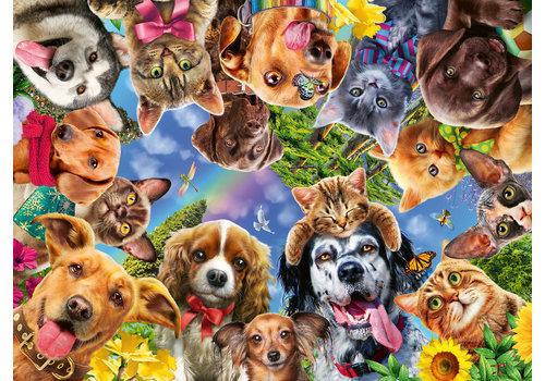 Dieren selfie - 500 stukjes