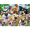 Ravensburger Honden selfie - puzzel van 500 stukjes