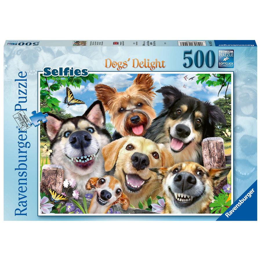 Honden selfie - puzzel van 500 stukjes-2